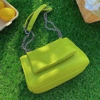solid color underarm bag 2021 summer new high quality pu leather womens designer handbag luxury brand shoulder messenger bag