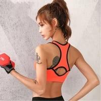 women sports gym bra runing fitness workout underwear breathable large size sports bras sports bra vest brassier
