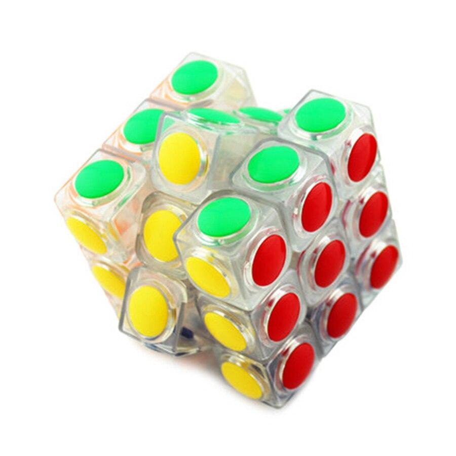 Пазлы Cubos Magicos, волшебный куб, Классическая логическая игрушка, Мини магнитные шарики, чашки, кубики, Детские Магнитные Головоломки, пластико...