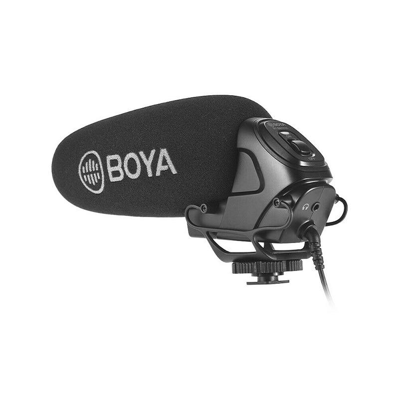 BOYA BY-BM3030 BM3031 BM3032 Microphone On-Camera Shotgun Condenser Supercardioid for DSLR Cameras Audio Recorders enlarge