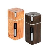 Humidificateur dair USB avec lampe de nuit de couleur  diffuseur dhuile essentielle et darome  brumisateur pour maison  bureau et voiture