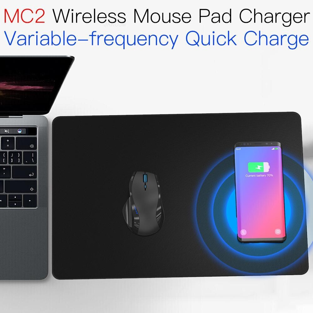 JAKCOM MC2 alfombrilla para ratón inalámbrico cargador Super valor que cargador universal uv sterlizer 8 cargador inalámbrico teléfono