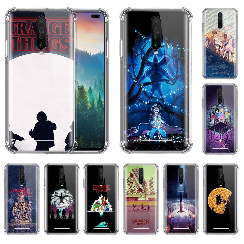 Stranger Things-funda de TV para Xiaomi Redmi Note 8T, 9, 8, 7, K20 Pro, K30, 7A, 6, Airbag, funda blanda anticaída para teléfono