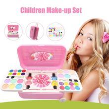 Prinzessin Makeupes Kosmetik Set Spielzeug Nailes Polnischen Machen Up Kits Cutes Spielt Haus Kinder Geschenk Koffer Pretends Spielen Spielzeug