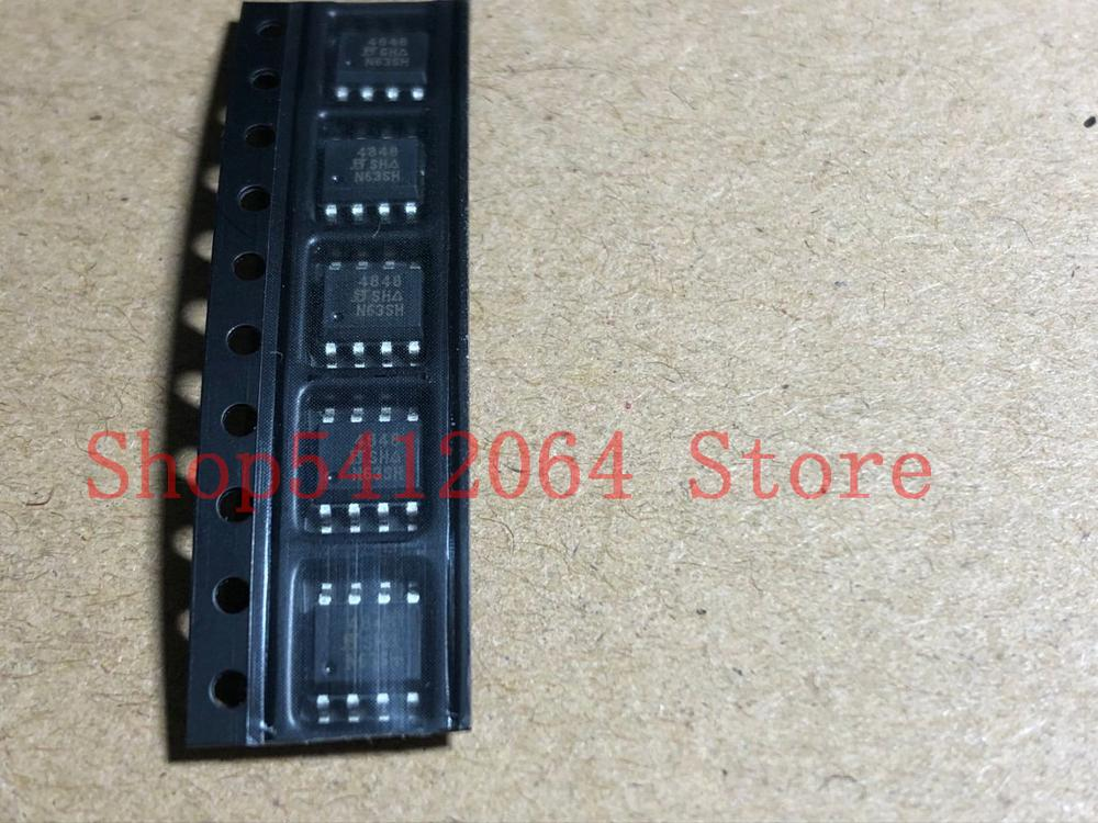 1pcs SI4848DY-T1-E3 SI4848DY SOP8 UPD66009 66009 VND14NV04TR-E VND14NV04 TO252
