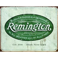 remington brand vintage retro metal tin sign home decor bar garage 20x30cm