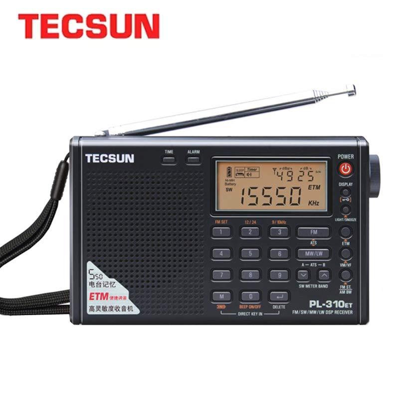 Tecsun PL310ET, радиоприемник с широким диапазоном, цифровой демодулятор, FM / AM, стерео, радио TECSUN PL-310
