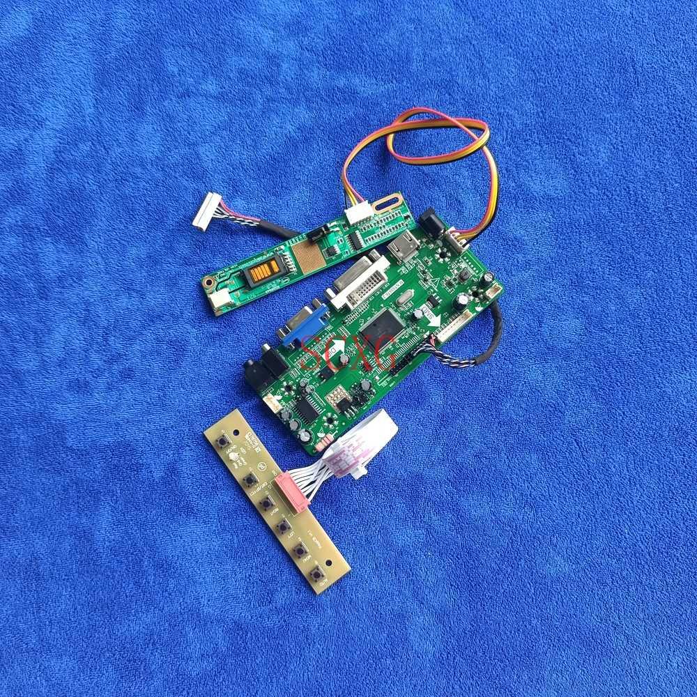 شاشة LCD LVDS 30-Pin 1CCFL Fit HT14P11/HT14P12/LP141E2/LP141E3 1400*1050 لتقوم بها بنفسك عدة M.NT68676 لوحة القيادة VGA DVI HDMI-متوافق