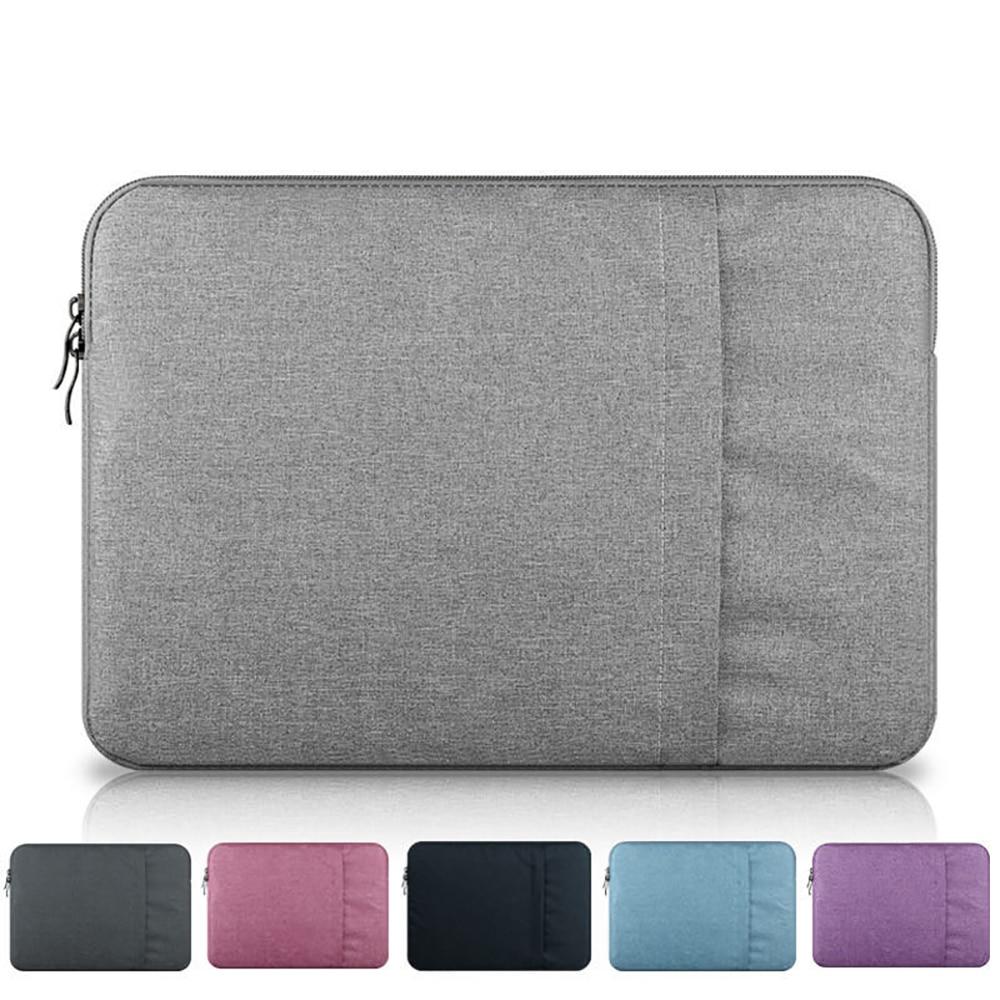 Laptop Sleeve Bag 12 13 13.3 14 15 15.6 Inch Waterproof Notebook Funda For Macbook Air Pro 16 Computer Case Cover