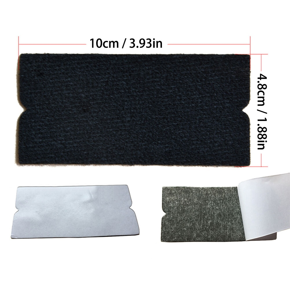 Car Wrapping Tools Kit Vinyl Squeegee Felt Scraper Pro Cutter Razor Window Tint Water Squeegee Rubber Blade Stainless Steel Blad enlarge