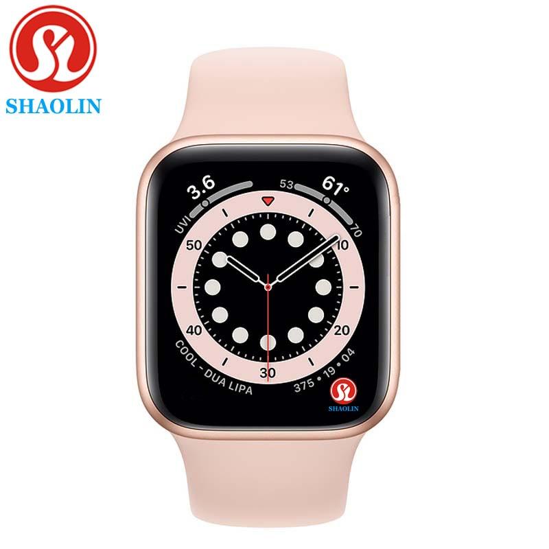ساعة ذكية للرجال والنساء ساعة ذكية معدل ضربات القلب ضغط الدم ساعة مراقبة Smartwatch ل أبل ساعة أندرويد IOS سلسلة 6