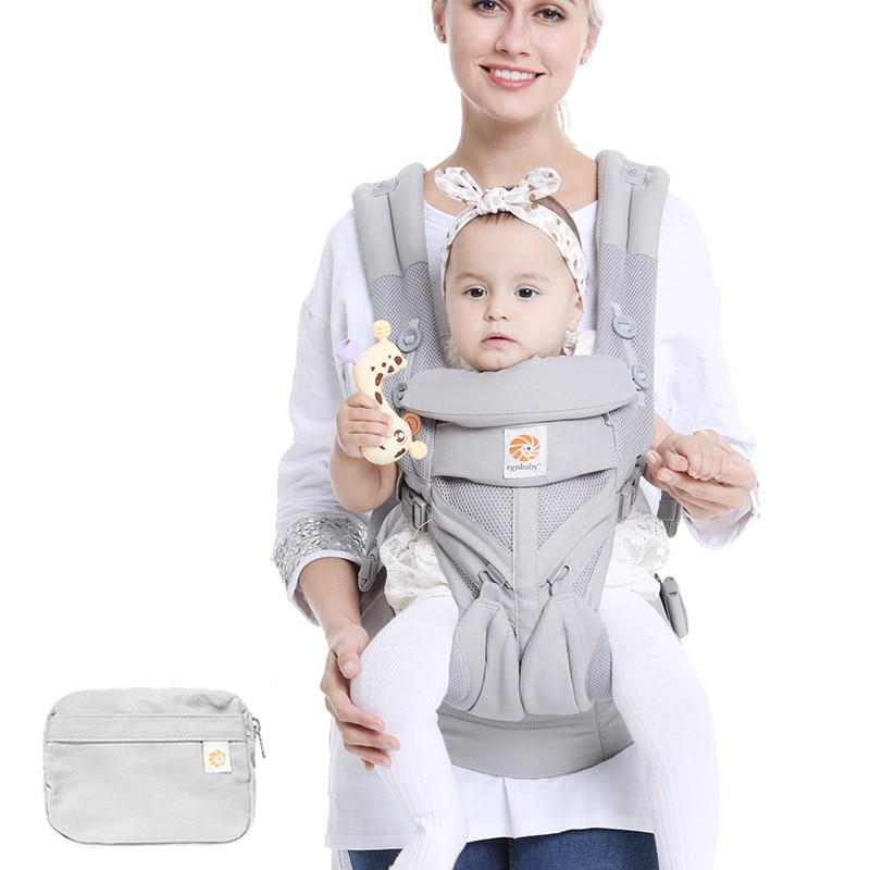 Baby Carrier All Carry Positions Baby Sling with Cool Air Mesh Cotton four seasons for mother father parents