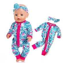 New Pajamas Fit For 17Inches Zapf Baby Born Doll 43cm Born Babies Doll Clothes