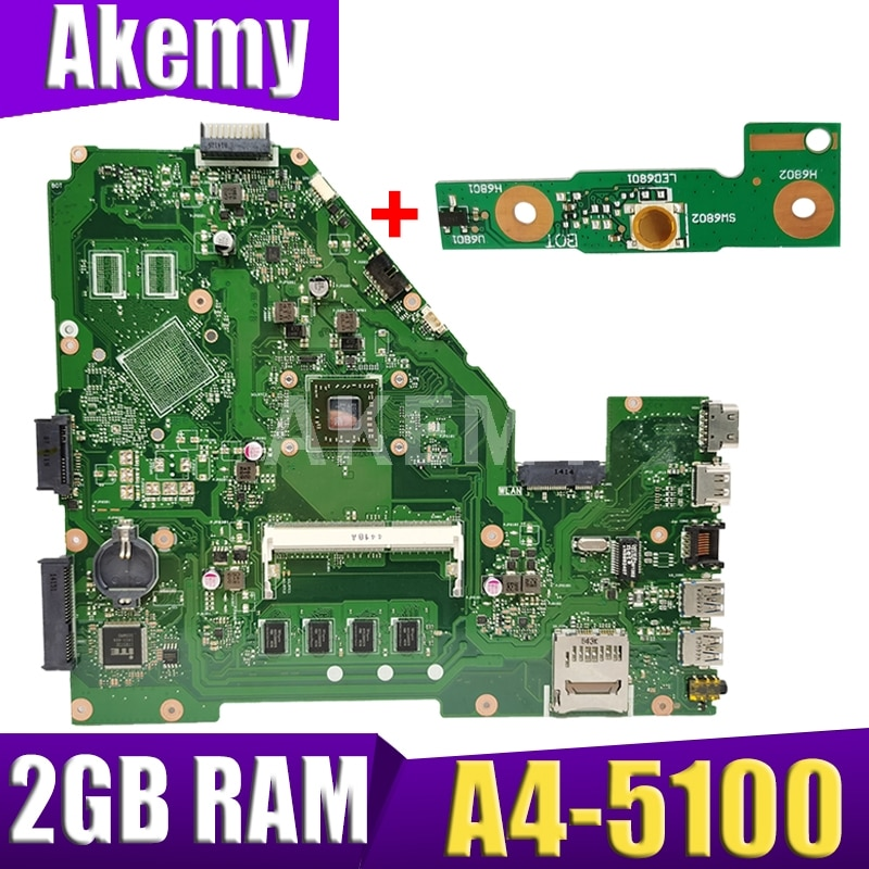 XinKaidi X550EA محمول اللوحة الأم ل ASUS X550EA X550EP X550E X552E اختبار اللوحة الأصلية 2G RAM A4-5100