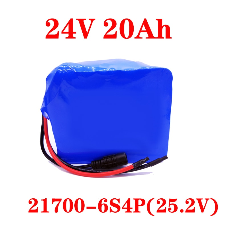 LiitoKala 24V 20Ah 25,2 V lithium-batterie pack für elektrische motor fahrrad ebike roller rollstuhl abschneider mit BMS
