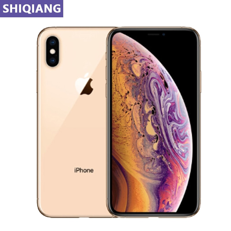 Original Used Unlock Apple iphone XS Max Cell phones 6.5in 4+64/256GB iOS GPS&NFC 7+12MP 1 SIM Card 4G LTE Smartphones A12