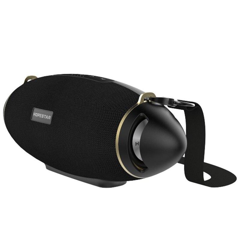 HOPESTAR Original H20+ Rugby Bluetooth Speaker Wireless Portable Column USB boombox mp3 player Waterproof Bass Outdoor Subwoofer enlarge