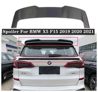 new high quality carbon fiber car rear trunk lip spoiler wing fits for bmw x5 f15 2019 2020 2021