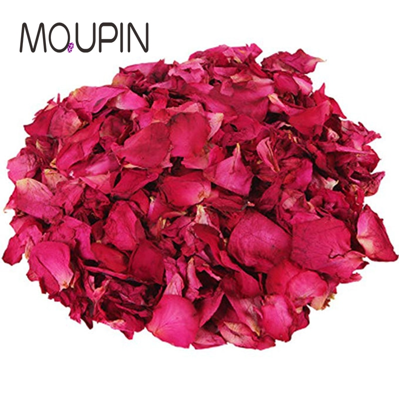100g/500g rose petals natural flower spa delicate skin aromatherapy bath foot