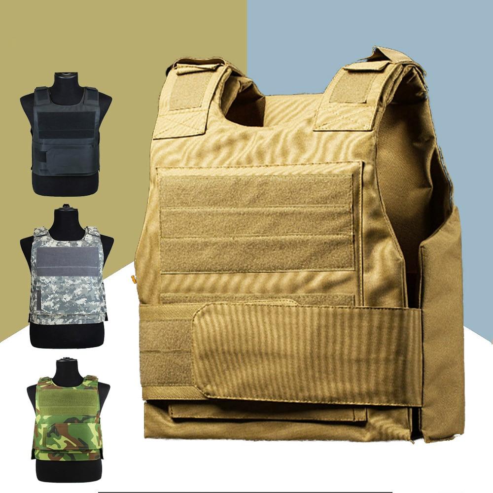 Тактический жилет с двумя пенными пластинами, военный миниатюрный охотничий жилет с регулируемыми плечевыми ремнями