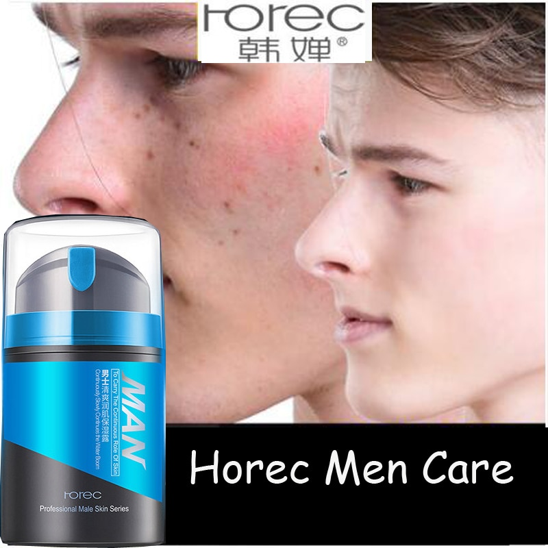 Rorec Men Moisturizing Lotion Refreshing Oil Control Shrink Pores Skin Care Day Cream Anti Aging Anti Wrinkle Whitening Face
