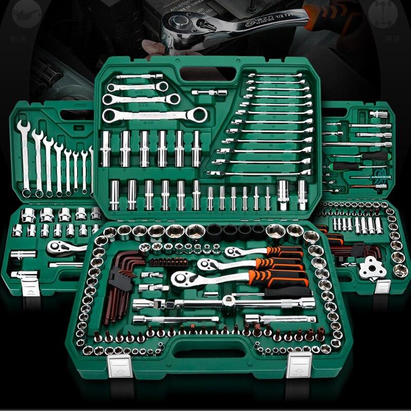 Ferramentas de reparo conjunto de ferramentas chave de soquete ferramentas de reparo do carro com chave de fenda chave chave de fenda chave sextavada