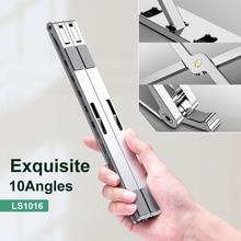 X Style réglable pliable en aluminium support pour ordinateur portable de bureau support pour ordinateur portable de bureau pour 7-15 pouces Macbook Pro Air