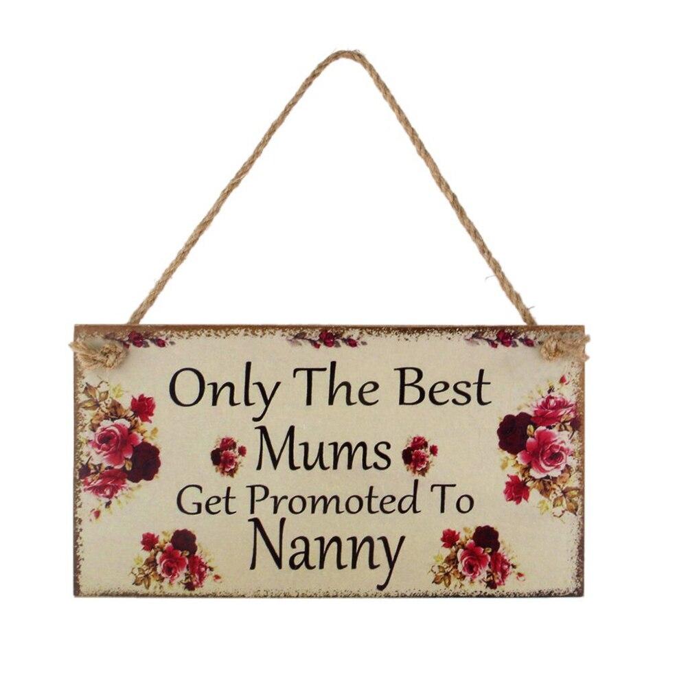 Regalo del Día de las madres, placa de pared, signo de la placa de la pared, regalo del Día de las madres, regalo del Día de la madre