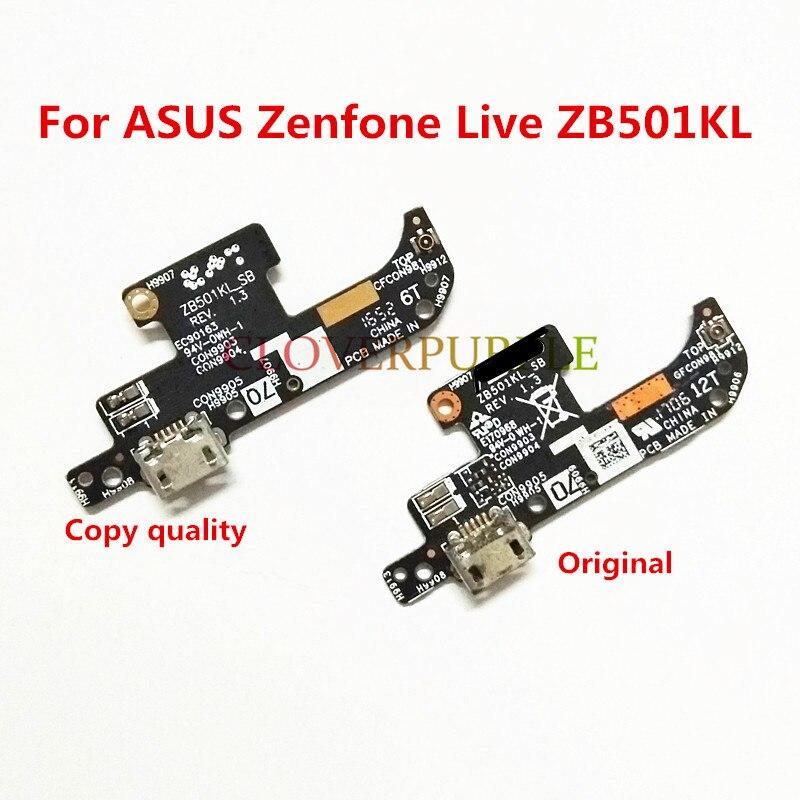 1x original usb carregador doca placa de carregamento porto cabo flex peças reparo para asus zenfone ao vivo a007 zb501kl