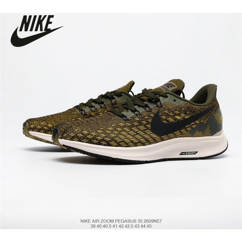 original Nike Air Zoom Pegasus 35 men's running shoes breathable mesh cushioning size 40-45