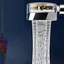 Pressurized Shower 360 Degrees Rotating Shower Head Water Saving  ABS Rain High Pressure Spray Nozzl
