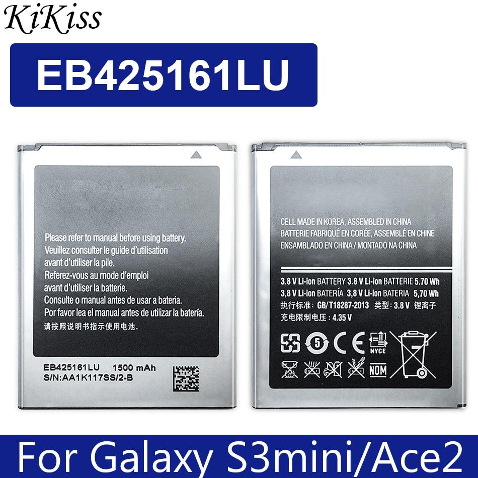 Bateria EB425161LU Para Samsung SM-J105H J1MINI S7562 S7572 S7580 I739 I759 I669 I8160 2 J1 MINI GALAXY Ace 1500mAh