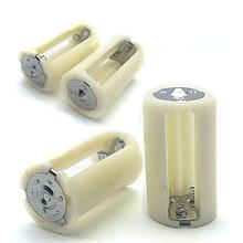 Boîte de boîtier de commutation de support de convertisseur dadaptateur de batterie de taille AA à D