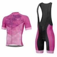 2020 new cycling jersey men short sleeve bib shorts gel pad pro bike wear jersey set cycling clothing mtb road short set 9d