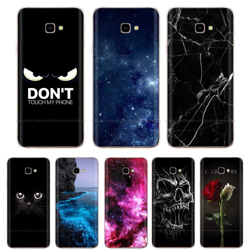 For Samsung J4 2018 Case Soft TPU Cover For Samsung J4 Plus J4+ J4 Prime sm j415 Silicone Galaxy J4 2018 EU J400 Case J4 Core