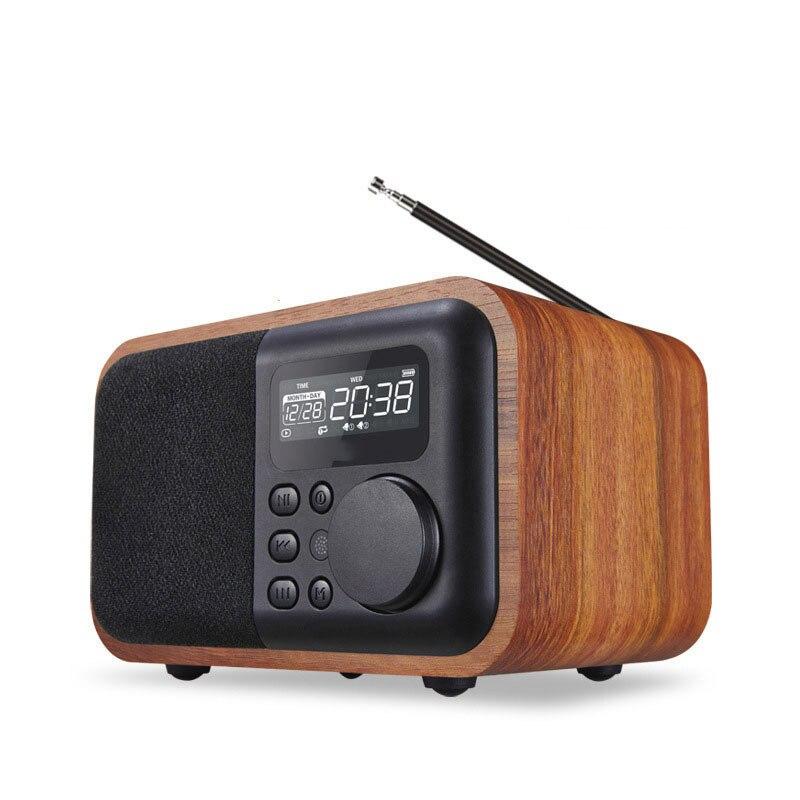 Altavoz con Bluetooth portátil inalámbrico de Control remoto de Radio FM alarma...