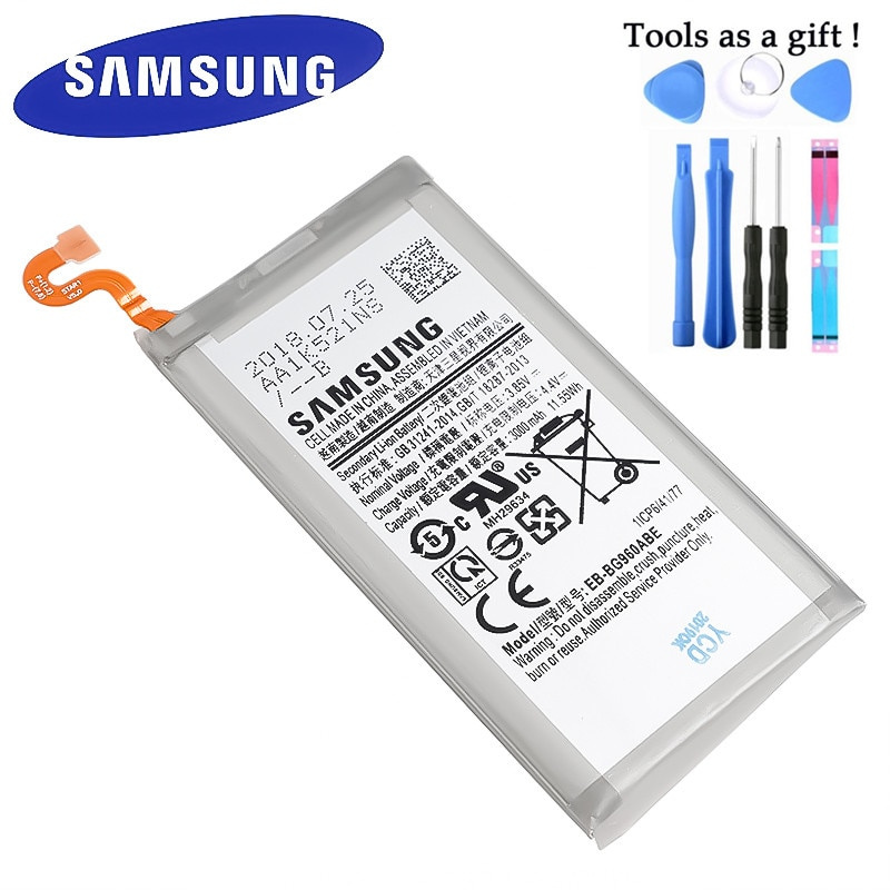 Samsung-EB-BG960ABE de batería para Samsung Galaxy S9 G9600 SM-G960F, SM-G960 G960F, G960, 3000mAh