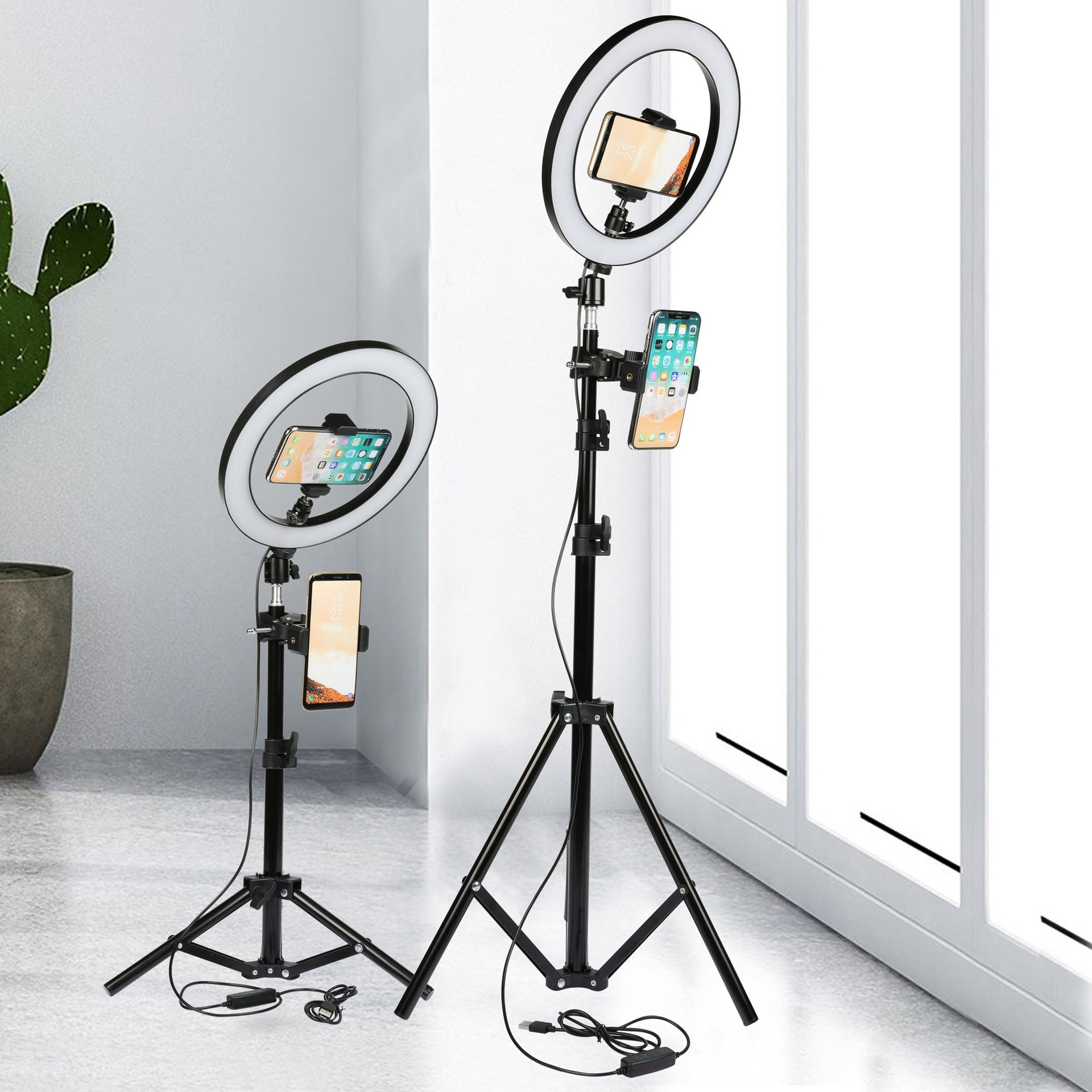 Anneau+lumineux+LED+multifonctions+de+26CM%2C+intensit%C3%A9+variable%2C+pour+Selfie%2C+support+de+t%C3%A9l%C3%A9phone+portable%2C+cam%C3%A9ra%2C+diffusion+vid%C3%A9o+en+direct%2C+Youtube%2C+maquillage