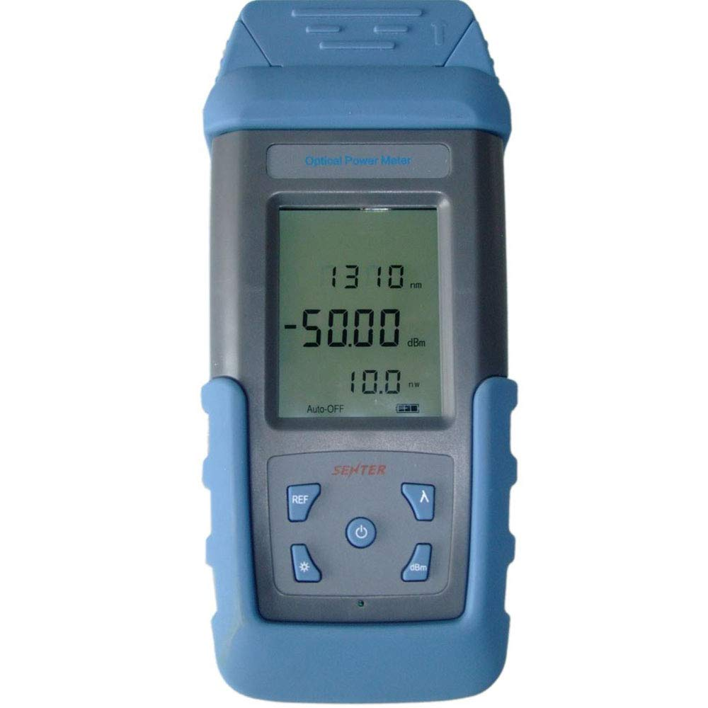 Holdwell handheld medidor de potência óptica ST800K-B opm-50 connector + 26 dbm 800 171700nm adaptador fc st sc lc conector