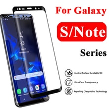 3D Beschermende Glas Op Voor Samsung Galaxy Note 8 S8 9 S9 Plus Screen Protector Note8 8s Film Vel note9 s Samsang Gelaksi Glas