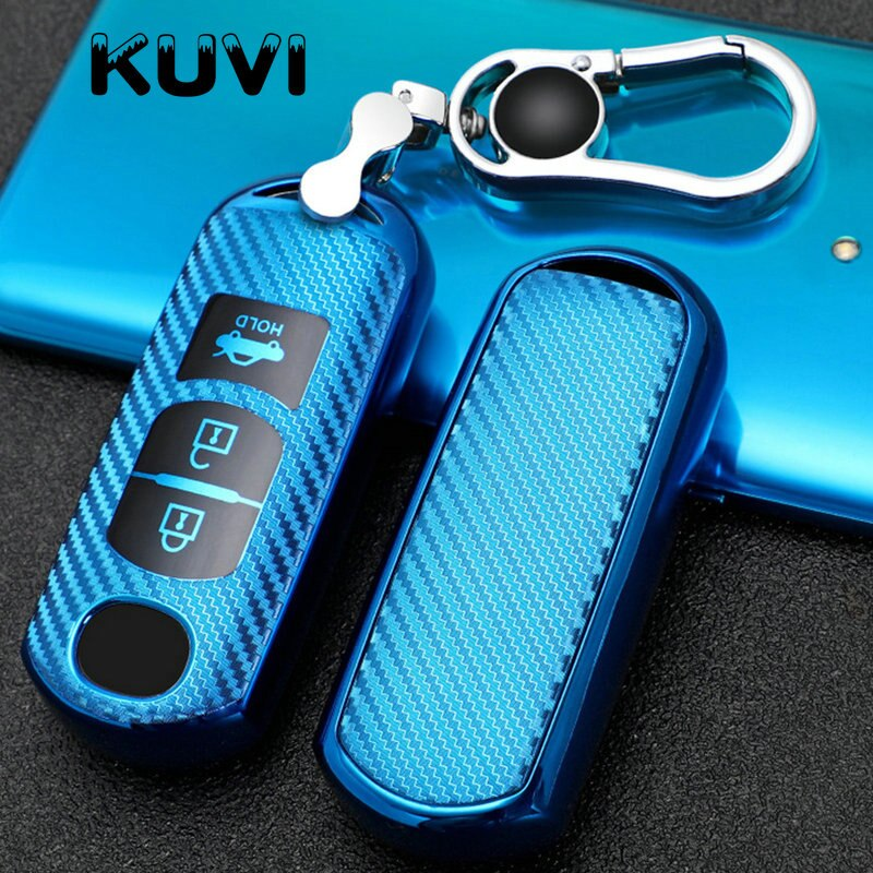 Tpu macio chave do carro fob capa caso proteger para mazda 2 3 5 6 CX-3 CX-4 CX-5 CX-7 CX-9 2014 2016 2015 atenza axela mx5 estilo do carro