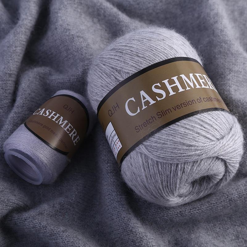 aliexpress - Best Quality 100% Mongolian Cashmere Hand-knitted Cashmere Yarn  Wool Cashmere Knitting Yarn Ball Scarf Wool Yarny Baby 50 grams