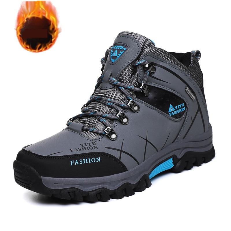 TaoBo Neue Heiße Art Männer Wandern Schuhe Winter Outdoor Walking Jogging Schuhe Berg Sport Stiefel Klettern Turnschuhe Freies Verschiffen
