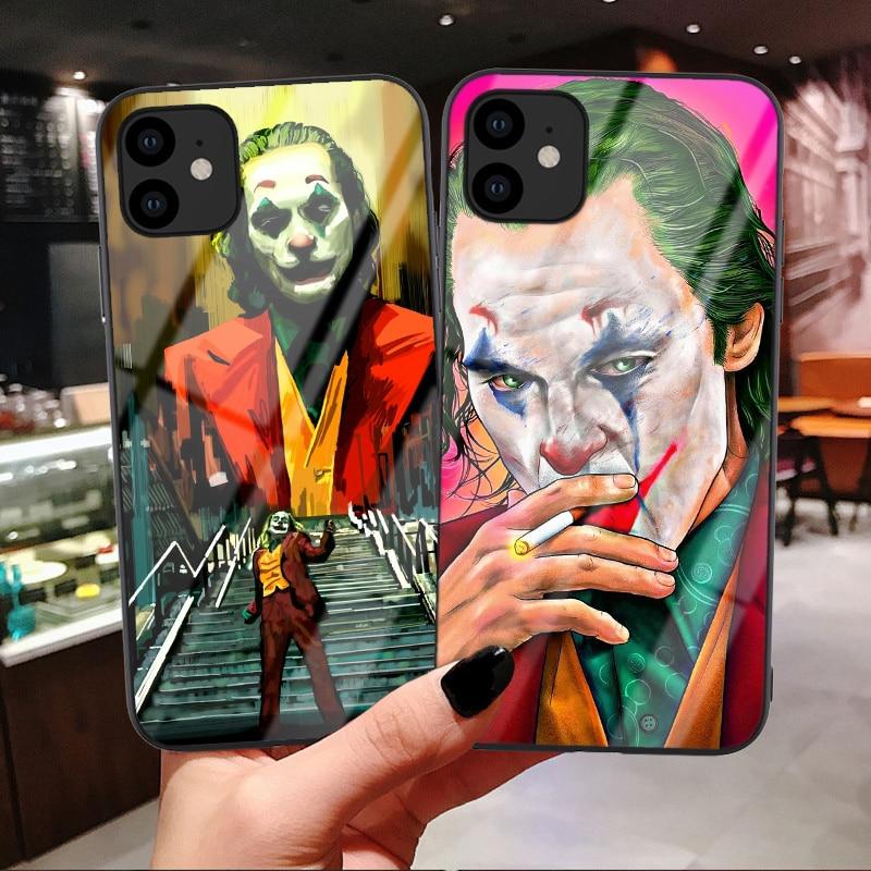 Joker 2019 Joaquin Phoenix чехол из закаленного стекла для телефона для iphone 11 Pro Max Deadpool чехол для iPhone X 6 6s 7 8 Plus XR XS Max