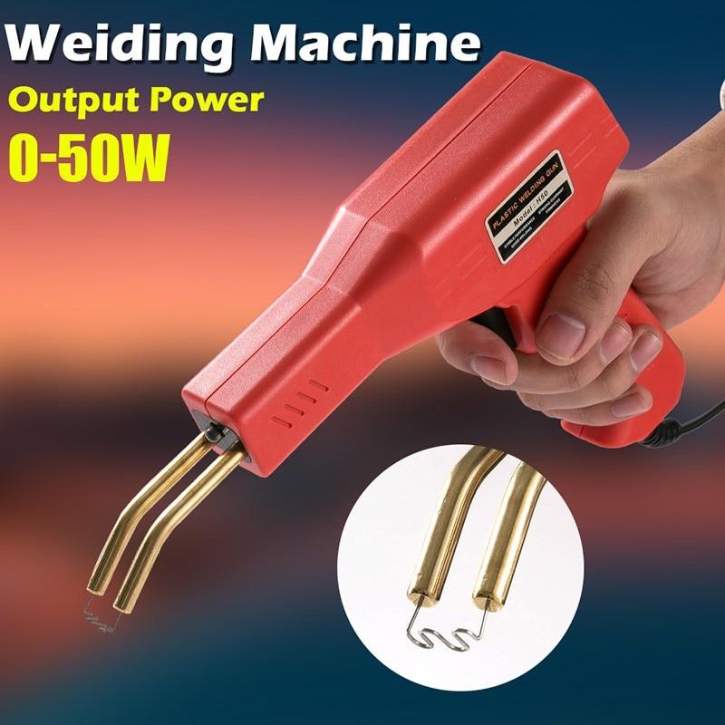Plastic Welder Garage Tools Handy Hot Staplers Machine PVC Plastic Repairing Machine Car Bumper Repair