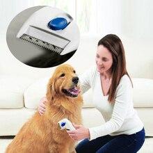 Electric Flea Comb Dog & Cat Hair Brush Lice Cleaner Tick Killer Pet Grooming Supply