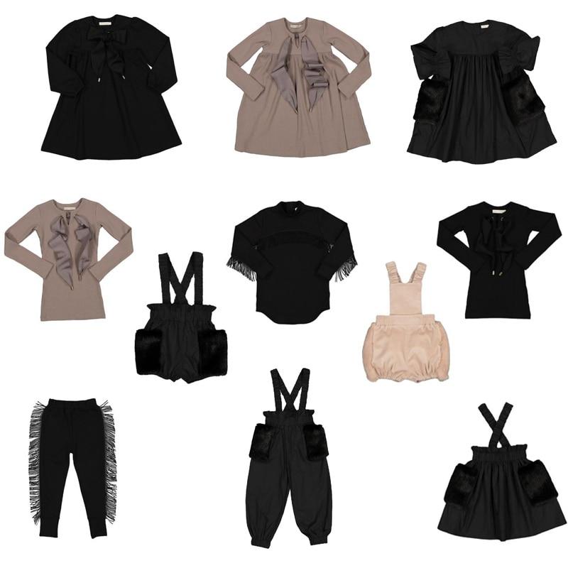 Kids Dresses 2020 New Autumn Winter Carb Brand Girls Fashion Long Sleeve Princess Dress Baby Child Velvet Clothes