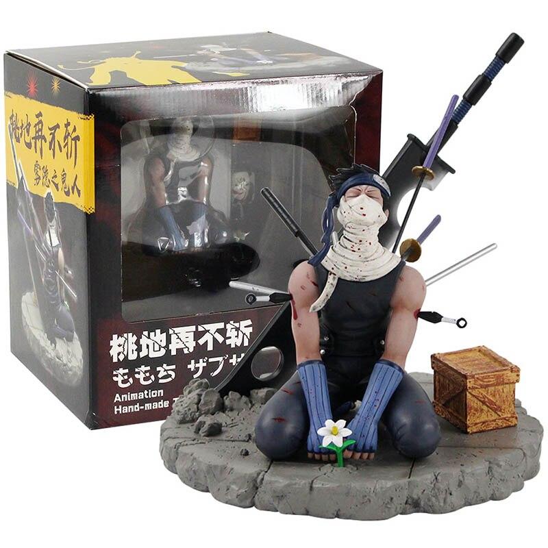 19Cm Momochi Zabuza Pvc Action Figure Collectible Model Toy