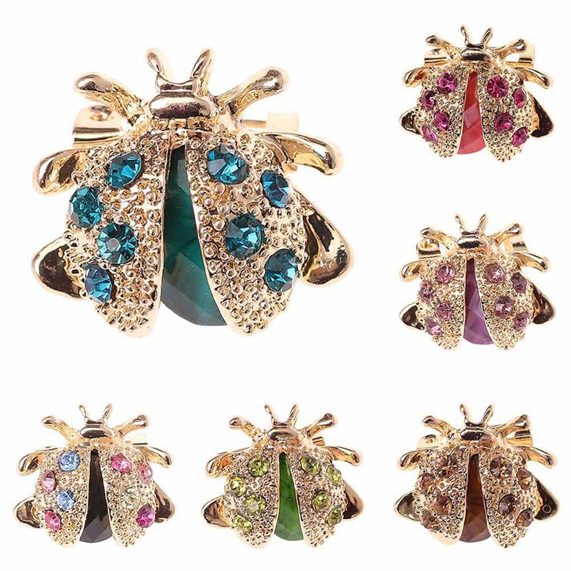 Insignias de broche de diamantes de imitación de cristal para mujeres niñas decoración de ropa 1PC