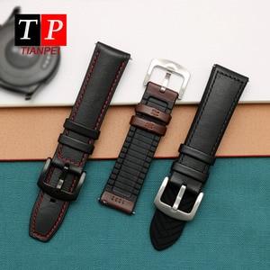 Genuine Leather Suitable for Huawei GT/GT2 Watch Leather Strap HOMOR Magic sports smart 22mm men's Bracelet elegant wrist strap